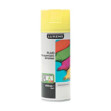 Smalto spray LUXENS Fluo giallo fluorescente 0.0075 L