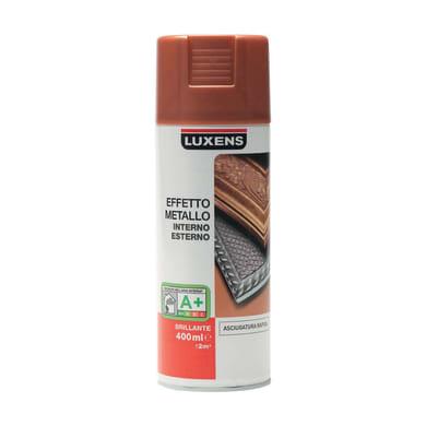 Smalto spray LUXENS Effetto Metallo rame metallizzato 0.0075 L