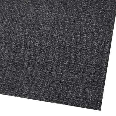 Tappeto per lavello pvc espanso nero L 50 x H 33 cm