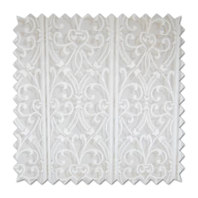 Tendina vetro Araba bianco passanti nascosti 150 x 250 cm