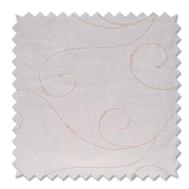 Tessuto al taglio Paola bianco 45 cm