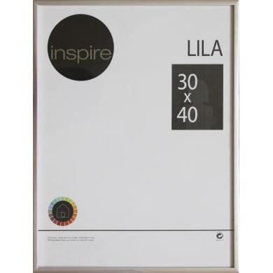 Cornice INSPIRE Lila argento per foto da 30x40 cm