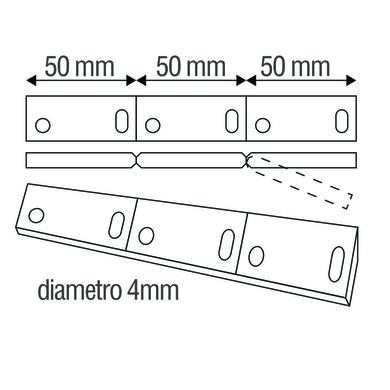 Binario INSPIRE Combo frame in acciaio