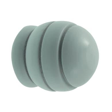 Finale per bastone Ø20mm Brest sfera in legno verniciato Set di 2 pezzi