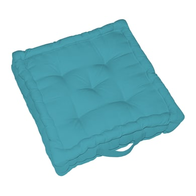 Cuscino da pavimento INSPIRE Elema blu 40x40 cm