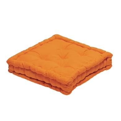 Cuscino da pavimento INSPIRE Futon Clea arancione 40x40 cm