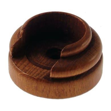 Supporto singolo aperto londra in legno ciliegio verniciato, 2 pezzi