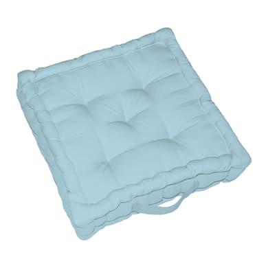 Cuscino da pavimento INSPIRE Elema azzurro 40x40 cm