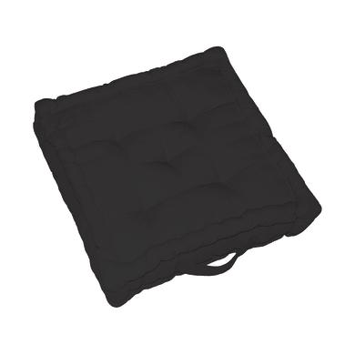Cuscino da pavimento INSPIRE Elema nero 60x60 cm