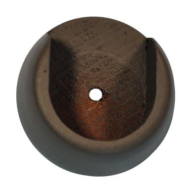 Supporto sì Ø28mm Tangeri in legno rovere sbiancato verniciato14 cm