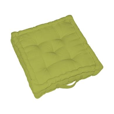 Cuscino da pavimento INSPIRE Elema verde 60x60 cm