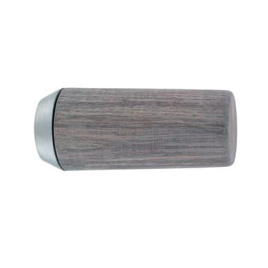 Finale per bastone Ø28mm pomolo in legno oak sonoma opaco INSPIRE Set di 2 pezzi