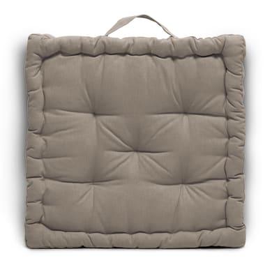 Cuscino da pavimento INSPIRE Futon Clea tortora 60x60 cm