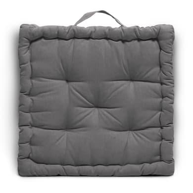 Cuscino da pavimento INSPIRE Futon Clea grigio 39x40 cm