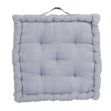 Cuscino da pavimento INSPIRE Toscana blu 60x60 cm