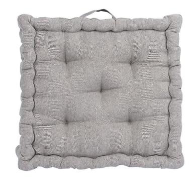 Cuscino da pavimento INSPIRE Toscana grigio 60x60 cm