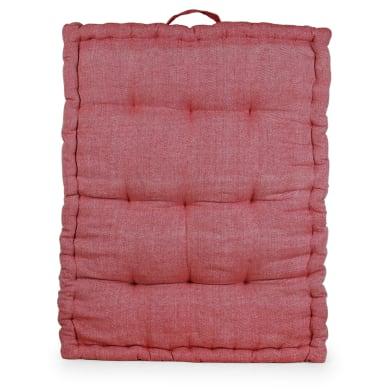 Cuscino da pavimento INSPIRE Toscana rosso 60x80 cm