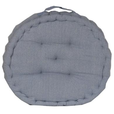 Cuscino da pavimento INSPIRE Toscana blu 45x45 cm Ø 0 cm