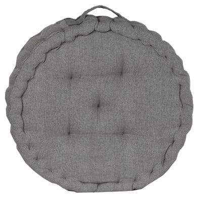 Cuscino da pavimento INSPIRE Toscana grigio 45x45 cm Ø 0 cm