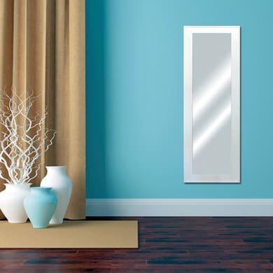 Specchio a parete rettangolare Prince bianco 60x160 cm