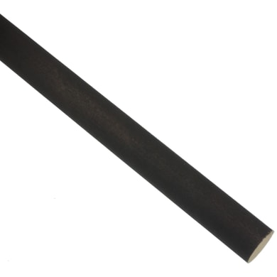 Bastone per tenda Lipari in legno Ø 28 mm wengé opaco 250 cm