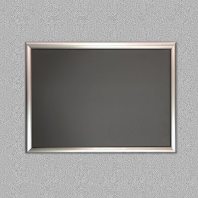 Bacheca Open argento 73.7x53.7 cm