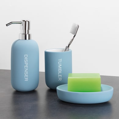 Dispenser sapone Remix azzurro