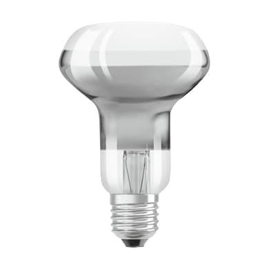 Lampadina LED, E27, Faretto, Opaco, Luce calda, 5.5W=195LM (equiv 60 W), 36° , OSRAM