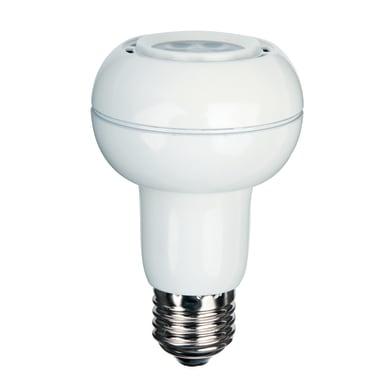 Lampadina LED, E27, Faretto, Opaco, Luce fredda, 8.5W=345LM (equiv 20 W), 300° , LEXMAN