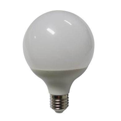 Lampadina LED, E27, Globo, Opaco, Luce calda, 12W=1100LM (equiv 75 W), 240° , LEXMAN