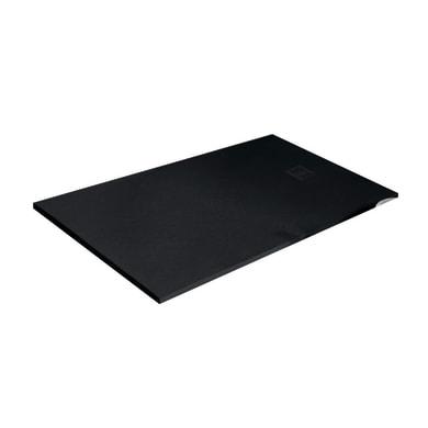 Piatto doccia resina Strato 180 x 70 cm nero