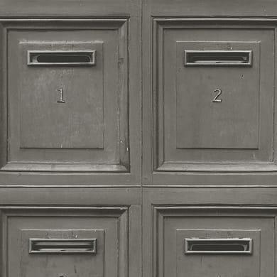 Carta da parati Cassetta postale grigio