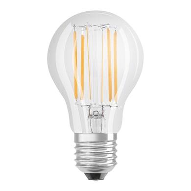 Lampadina LED filamento, E27, Goccia, Trasparente, Luce naturale, 7.5W=1055LM (equiv 75 W), 320° , OSRAM