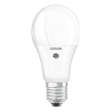 Lampadina LED, E27, Goccia, Opaco, Luce calda, 10W=1060LM (equiv 75 W), 200° , OSRAM