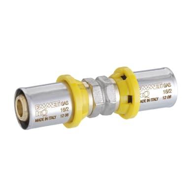 Raccordo gas manicotto dritto Ø 26 x 26 mm