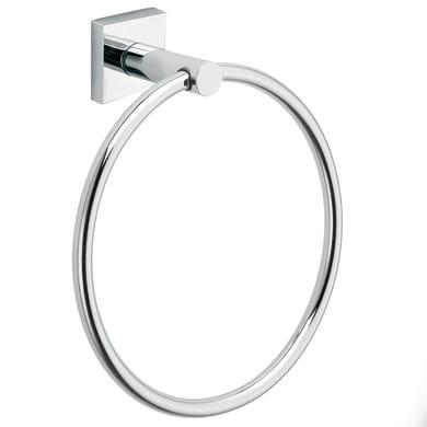 Porta salviette ad anello Sidney cromo cromato L 18.3 cm