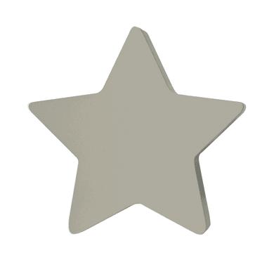 Finale per bastone Ø28mm Sweet bambino in legno bianco anticato laccato