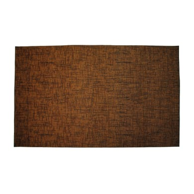 Passatoia Deco Classic , marrone rossiccio, 53x53 cm