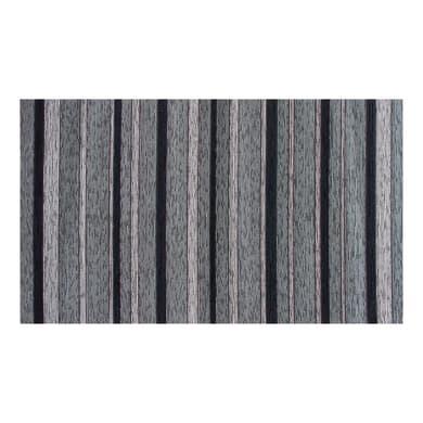 Passatoia Deco Rigato , grigio, H 53 cm