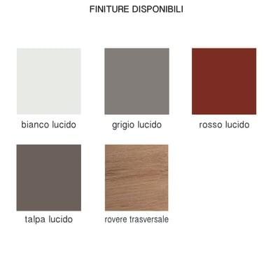 Colonna Remix L 45 x P 35 x H 180 cm tartufo legno ed effetto legno SENSEA