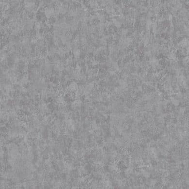 Carta da parati Cemento strullato grigio scuro