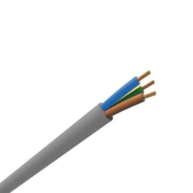Cavo elettrico H05VV-F arancio h05vvf  3 fili x 1,5 mm² 50 m LEXMAN Matassa