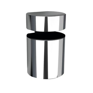 Reggimensola Basket L 3.8 x H 5 x P 32 cm grigio / argento