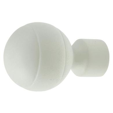 Finale per bastone Ø16mm Stelvio sfera in metallo opaco Set di 2 pezzi