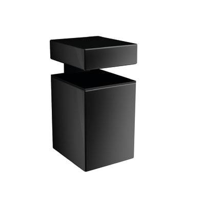Reggimensola Block L 3 x H 5 x P 35 cm nero