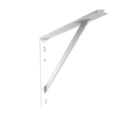 Reggimensola Obelix L 31.5 x H 31.5 cm bianco