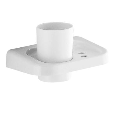 Bicchiere porta spazzolini Darios in poliresina bianco