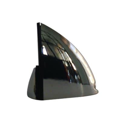 Reggimensola Pinza L 3.6 x H 8 x P 99 cm grigio / argento