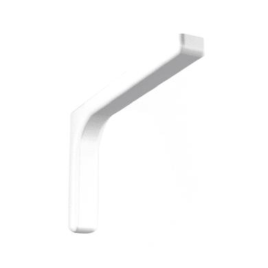 Reggimensola Leonardo H 11.4 cm bianco