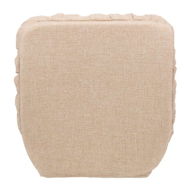 Cuscino per sedia Con Elastico Antonella beige 42x42 cm